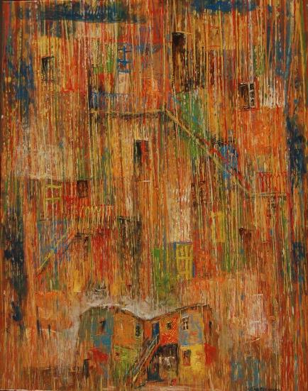"""""""El Arquetipo"""" - óleo, 80 X 60 cm."""